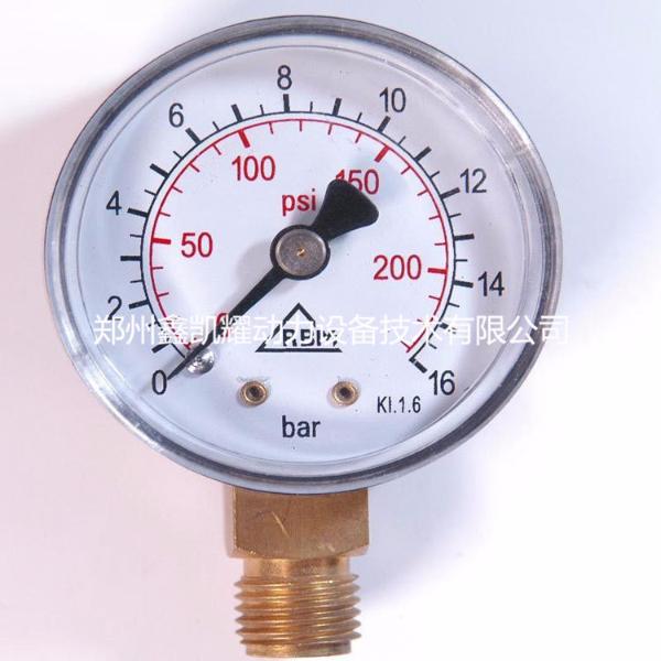 英格索兰空压机配件压力表39499256